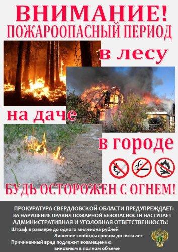 Будь осторожен с огнем!