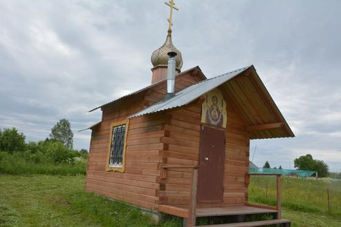 Часовня в честь св. Троицы, село Большие Галашки
