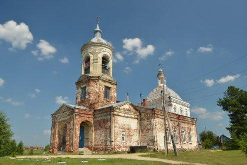 Храм во имя Рождества Пресвятой Богородицы, село Краснополье