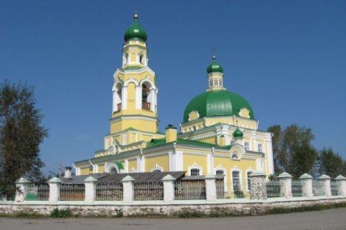 Храм во имя Святителя Николая, село Николо-Павловское