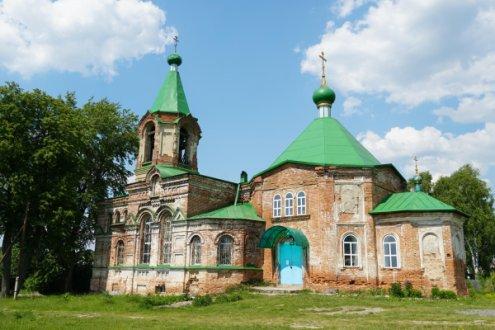 Храм во имя Святой Троицы и Воскресения Господня, село Шиловка