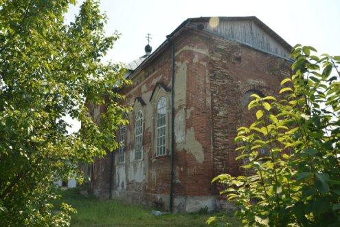 Храм в честь Вознесения Господня, село Новопаньшино