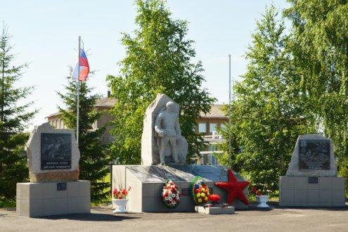 Мемориальный комплекс «Воинам, погибшим в годы Великой Отечественной войны», село Покровское