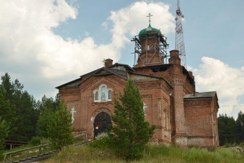 Храм во имя святой великомученицы Параскевы Пятницы, село Кайгородское